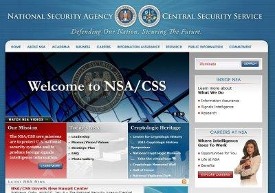 NSA sitio web